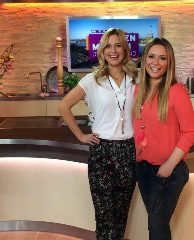RTL Moderatoron Saskia Naumann und RTL-Moderatorin Susanna Ohlen