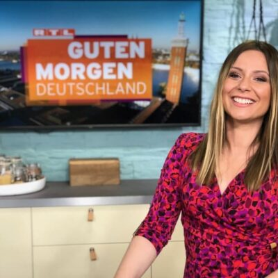 RTL-Moderatorin Saskia Naumann Guten Morgen Deutschland