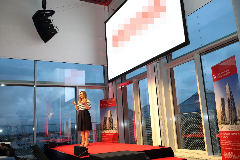 Eventmoderation in München mit Saskia Naumann