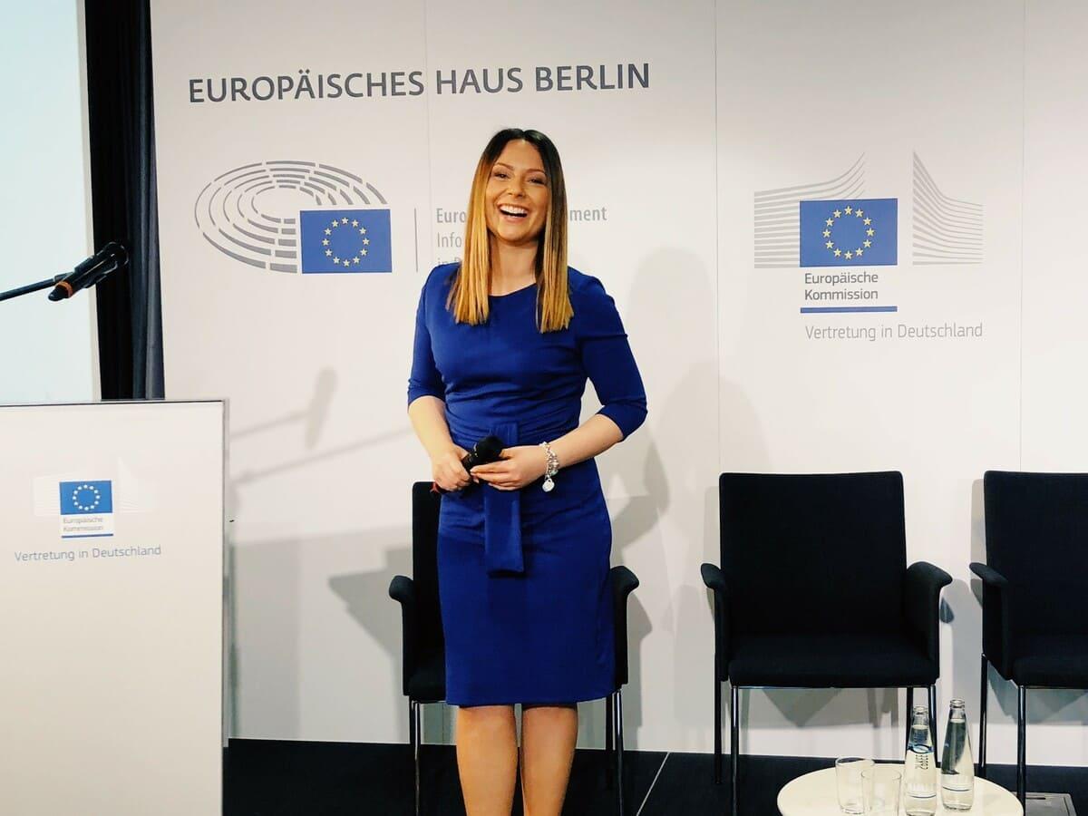 Moderator buchen Eventmoderatorin Saskia Naumann Köln Berlin München