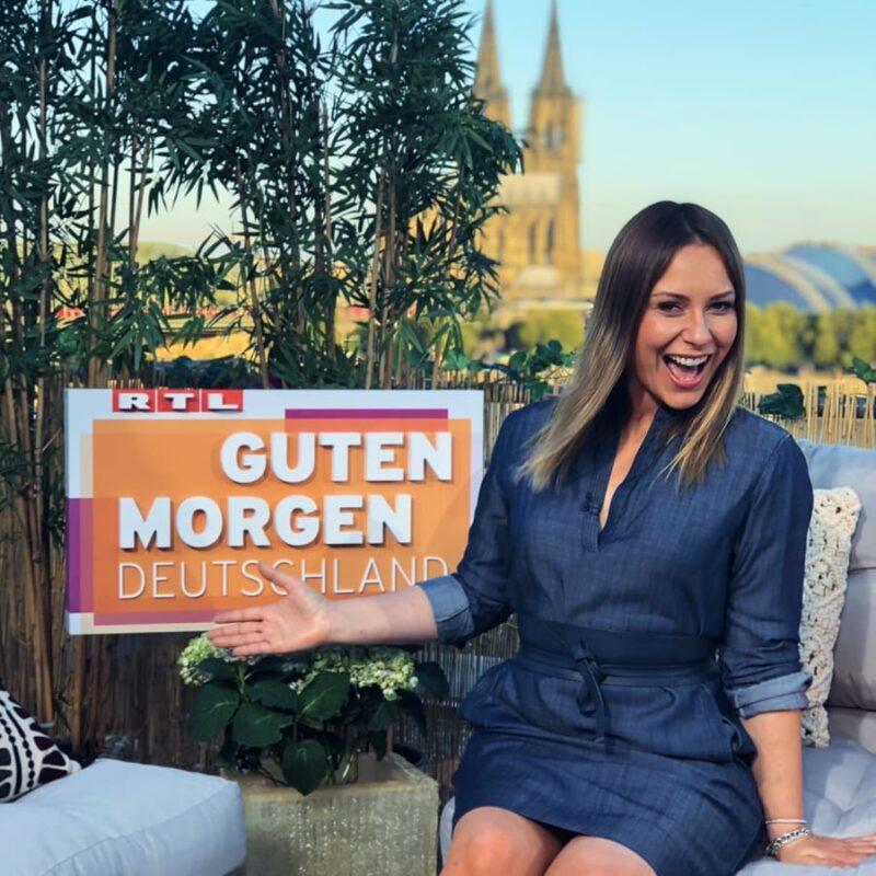 Saskia Naumann in Guten Morgen Deutschland