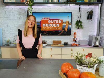 RTL Moderatorin Saskia Naumann