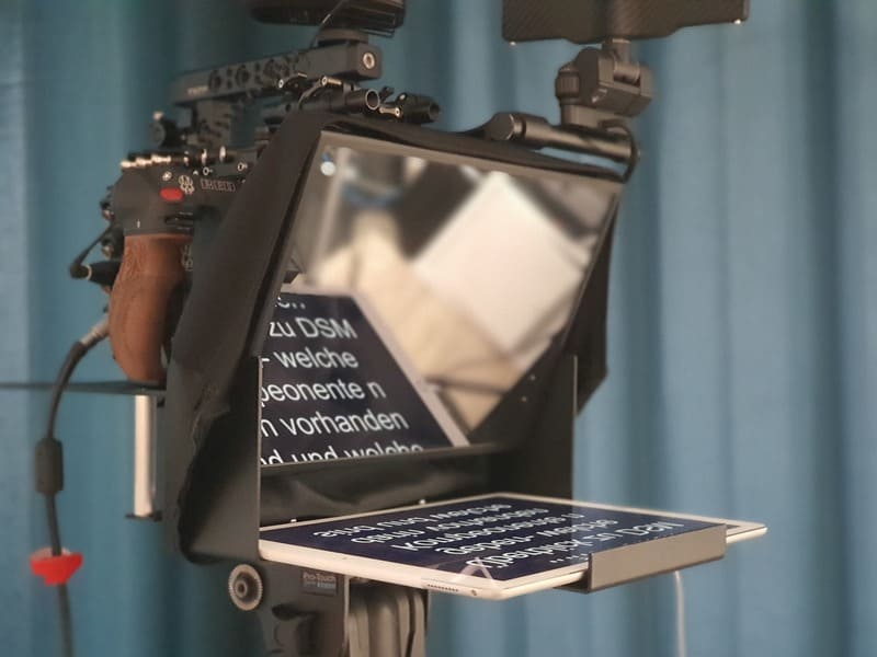 TV- und Studiomoderation