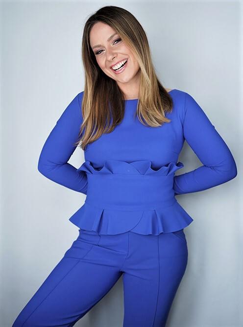 Fernseh Moderatorin Saskia Naumann