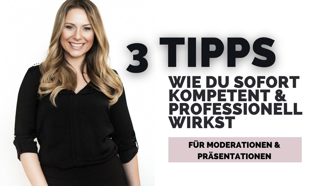 Tipps für eine gute Moderation