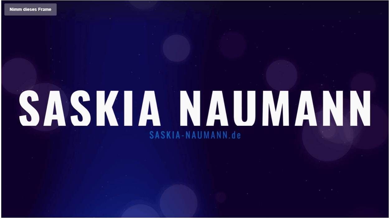 Eventmoderation und Fernsehmoderation mit Saskia Naumann
